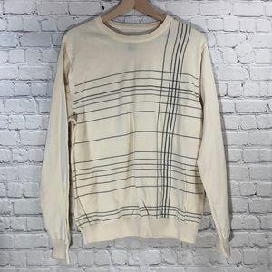Structure Cream Pullover Sweater